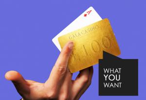 Gala Casino's Golden Card Blackjack Giveaway